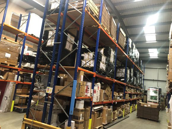 Increased Warehouse Space
