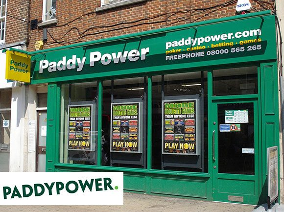 Our business relationship started with Paddy Power in Eire